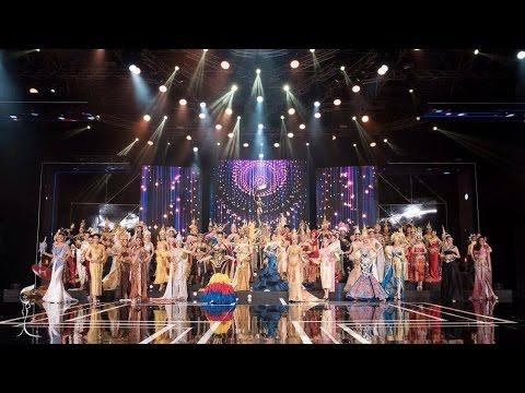 Miss Grand Thailand 2016 รอบ ประกวดชุดประจำชาติไทยยอดเยี่ยม