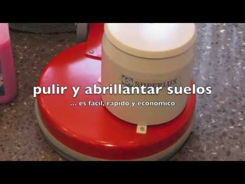 Pulir y abrillantar terrazo youtube for Como pulir marmol