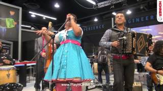 La Santa Cecilia Live at NAMM 2014 Part 1