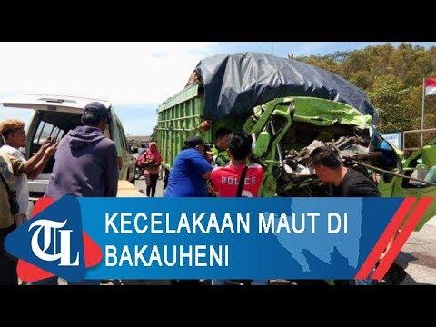 Kecelakaan Maut Di Bakauheni | Tribun Lampung News Video