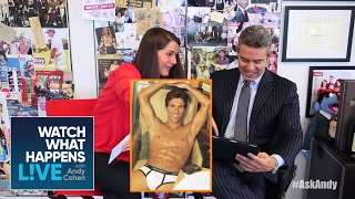 Andy Reveals Halloween Costume | @sk Andy | WWHL