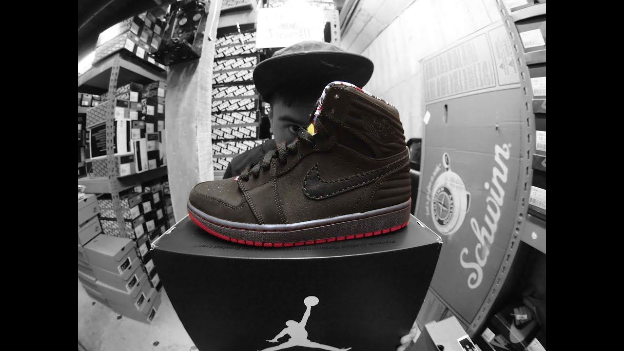 10bde8f06d Air Jordan 1 Retro '93 Black / Red - YouTube