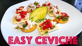 Ceviche Recipe  -  Seafood Mexican Food