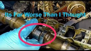 BMW Engine Ticking Diagnosis ( Exhaust Camshaft  Extreme Wear) !!!