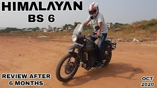 Royal Enfield Himalayan BS 6 Test Ride & Review After 6 months by aps vlogs
