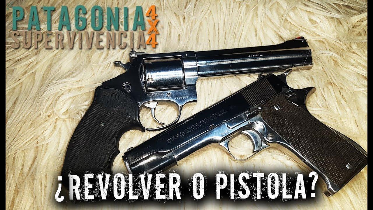 ¿Revolver o Pistola?