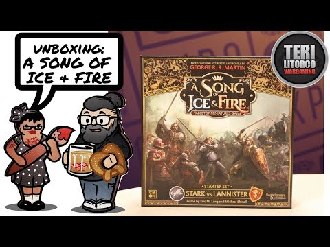 Unboxing: A Song of Ice and Fire by CMON Games