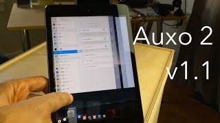 Auxo 2 on the iPad