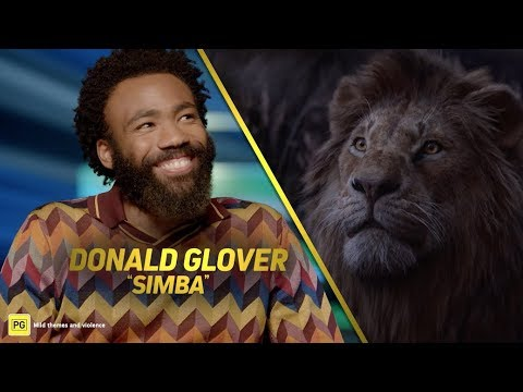 The Lion King | Becoming A King With Donald Glover And JD McCrary