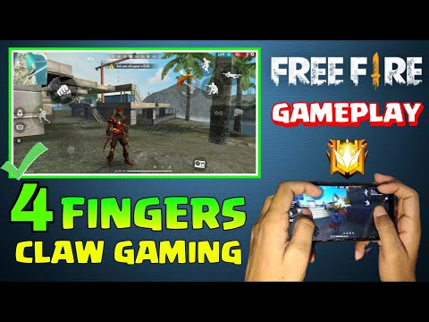 4 FINGER CLAW GAMING IN FREE FIRE. SOLO VS  SQUAD GAMEPLAY IN FREE FIRE.