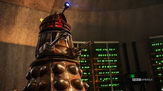 Making the Dalek | The Doctor Who New Years Day Special | Doctor Who | BBC America