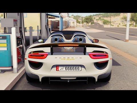 Forza Horizon 3 Porsche 918 Spyder Gameplay