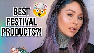 MUST-HAVE Festival Products?! | Review & Tutorial | KristenLeanneStyle