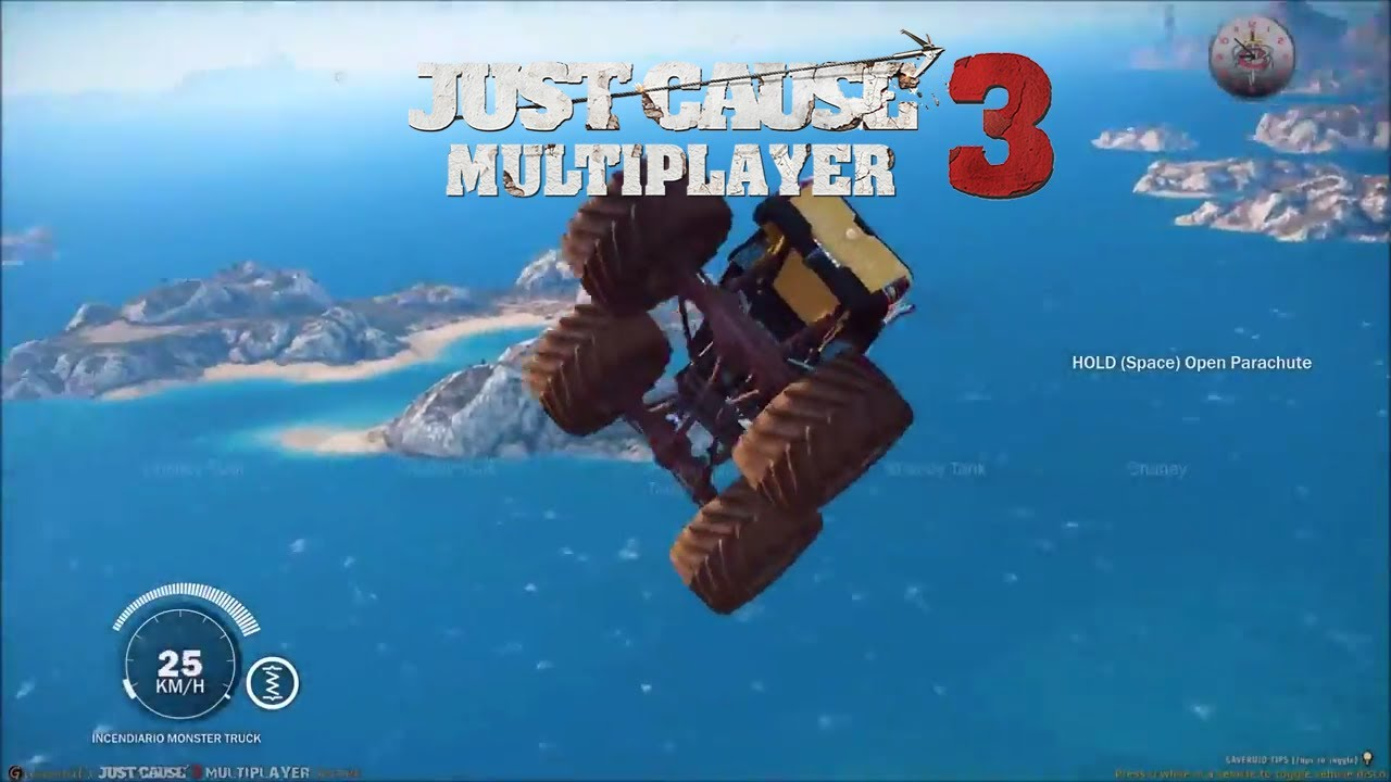 how to get just cause 3 multiplayer mod