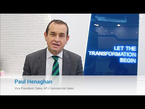 Paul Henaghan, Vice President of Commercial Sales Discusses Sales Career Opportunities at Dell