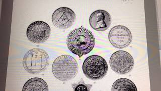 Rare British Masonic Coins & Commemorative Medals - 1901 Book (136 pages)