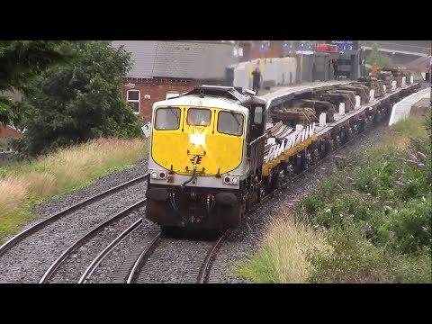 Irish Rail Permanent Way Trains - 2017