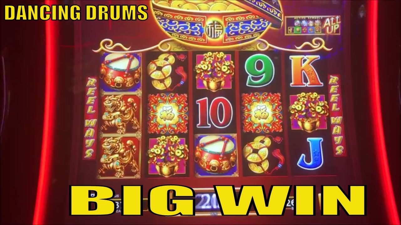 ★big Win☆dancing Drums Slot Machine Sg Free Play Slot