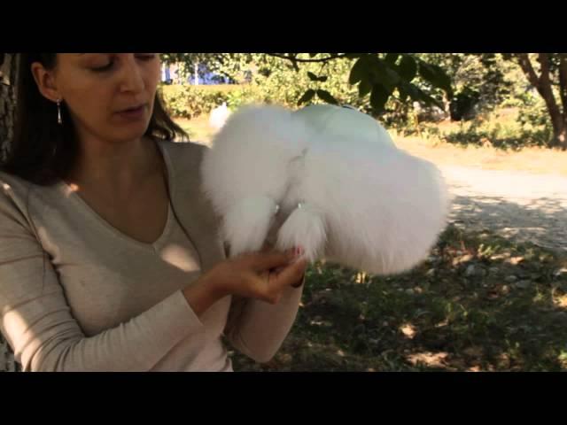 Шапка, Снегурка Белая