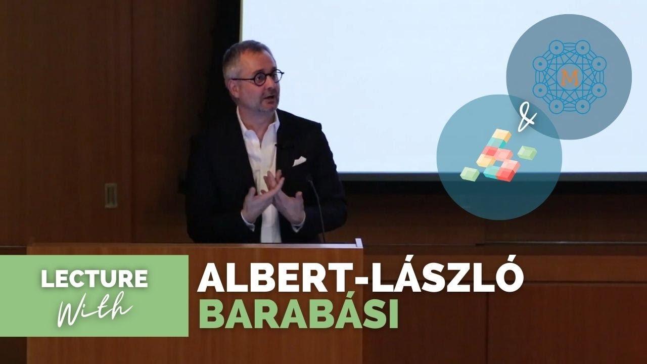 Albert-László Barabási   Lecture at NYU -