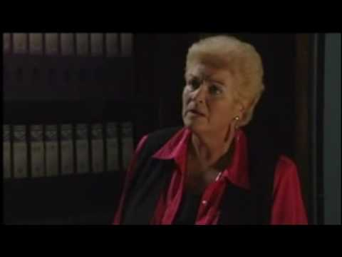 Eastenders  Andy Hunter threatens Pat Evans 2005