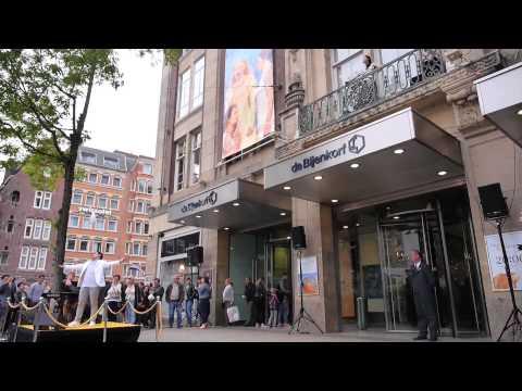 De Bijenkorf en het Belvedère Opera Concours Amsterdam 2015