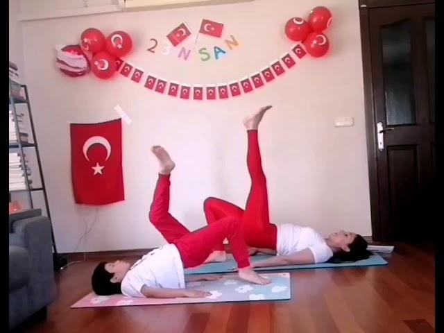 Haydi Çocuklar Yoga'ya!... Hem Online Hem Ücretsiz!