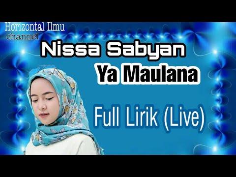 ya-maulana---nissa-sabyan-live-music---full-lirik