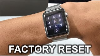 How To Factory Reset your Apple Watch Series 3 - Hard Reset