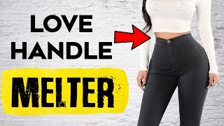 How To Lose Love Handles and Belly Fat | 4  Exercises To Lose Love Handles & Belly Fat
