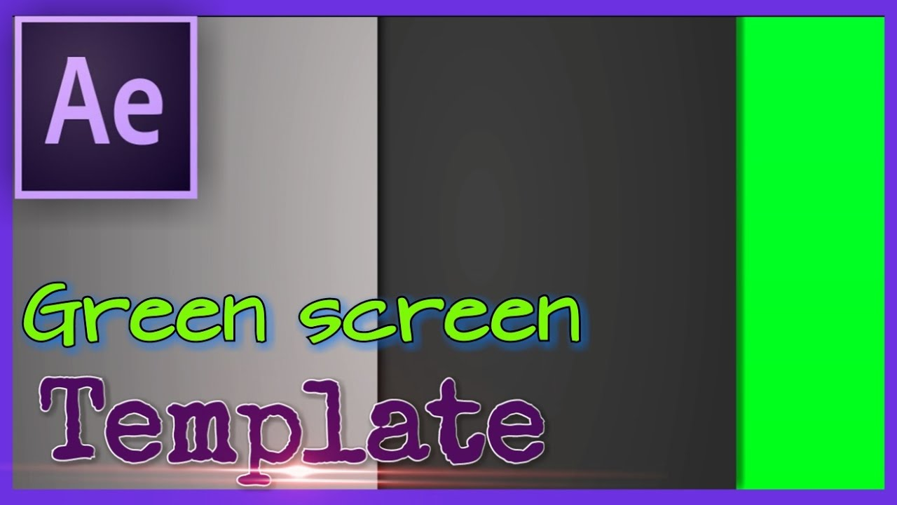 green screen backgrounds free templates - affter effects cc 2015 green screen video 39 s black and