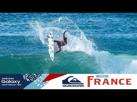 Quiksilver Pro France: Round Four, Heat 2