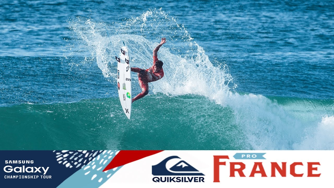 f695ffb0ae Florence vs. Toledo vs. Kennedy - Quiksilver Pro France 2016 - YouTube