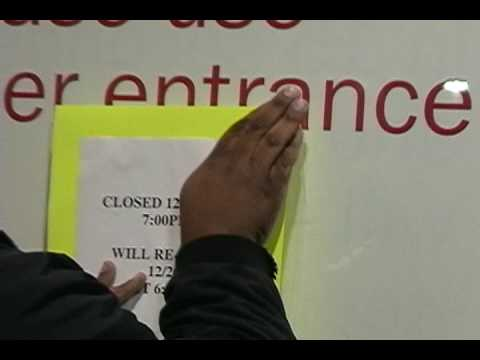 Meijer closes on Christmas Eve - YouTube