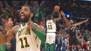 Kyrie Irving Shocks Celtics Crowd After Taking Over In Final Minutes! Celtics vs Raptors