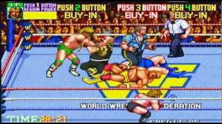 WWF Wrestlefest Arcade Gameplay 1991