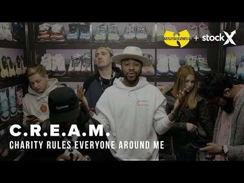 Wu-Tang + StockX Present: C.R.E.A.M. (Charity Rules Everyone Around Me)