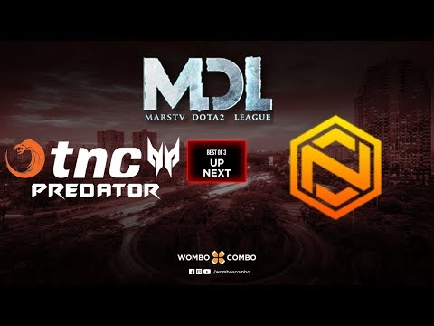 TNC Predator vs GeekFam Game 1 | MDL Changsha SEA Qualifiers (Bo3)