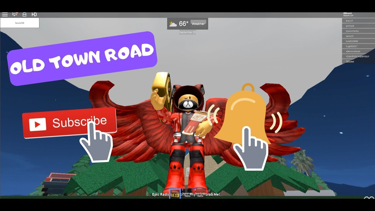 Roblox Song Id Ussr Roblox Free Offers Old Town Road Oof Roblox Id