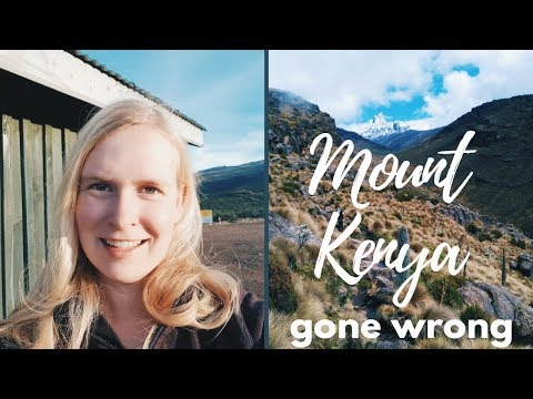 Mount Kenya Trek FAIL | Travel Vlog