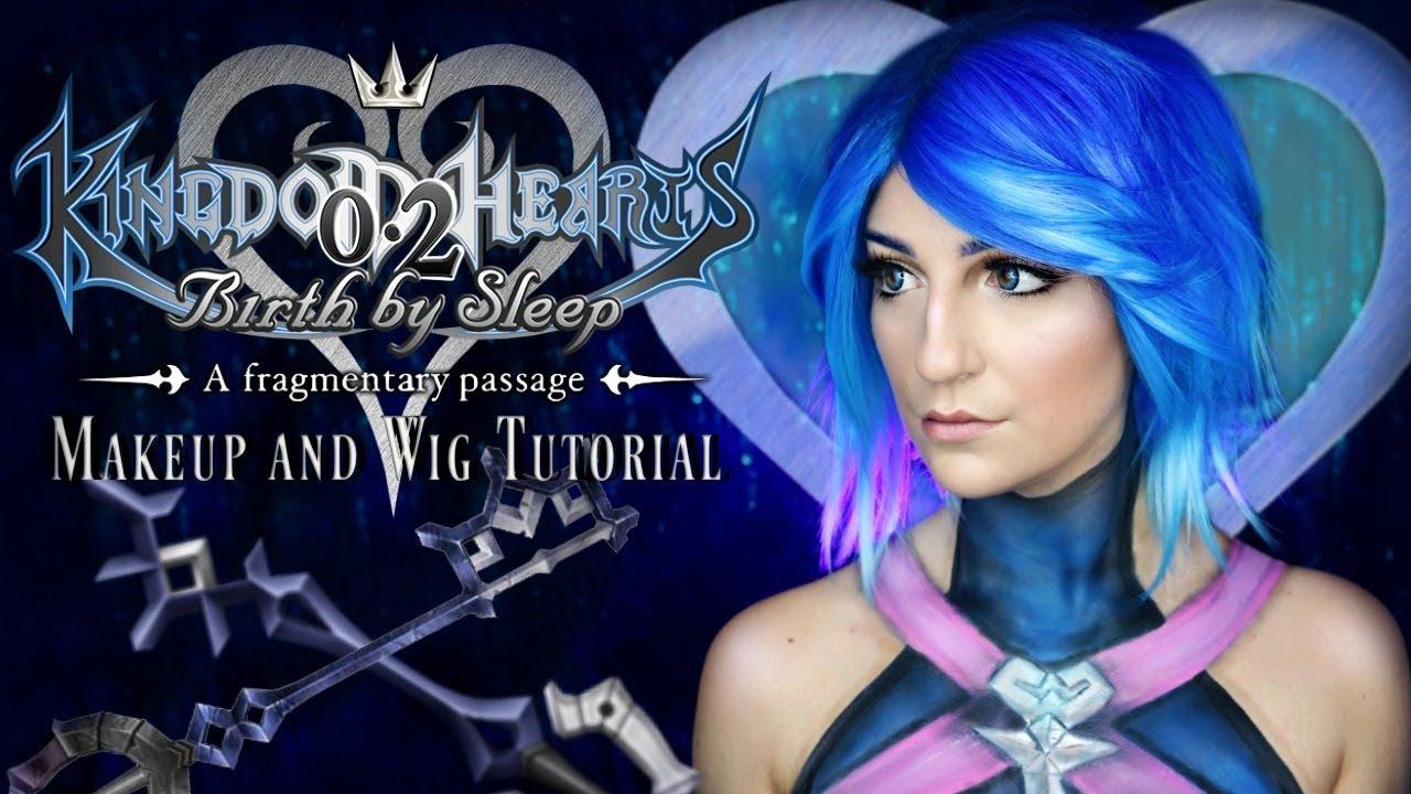 Aqua Cosplay Makeup & Wig Tutorial【Kingdom Hearts III】キングダムハーツ | Madalyn  Cline
