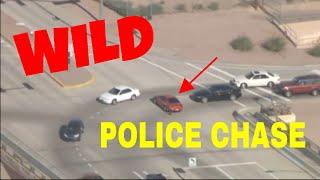 Phoenix Police carjacking chase