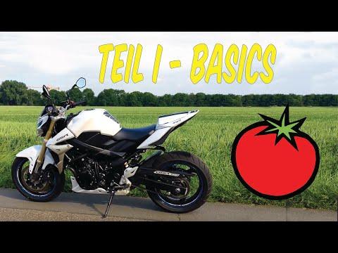 Motorradfahren Lernen   Bedienung Und Basics   Teil 1