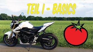 Motorradfahren lernen | Bedienung und Basics | Teil 1