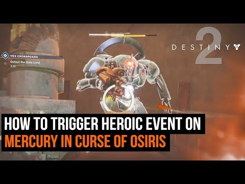 How To Trigger Heroic Public Events on Mercury in Destiny 2: Curse of Osiris