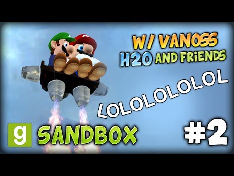 GMOD SANDBOX #2 (w/ VanossGaming, H2O and Friends) – TORNADO, FLYING BROTHERS, HOVERBOARD MADNESS