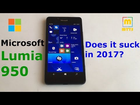 The Lumia 950 in 2017; does it suck?