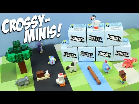 Crossy Road Mini Figurines Mystery Box Collection Toys Series Opening