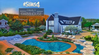 Family FarmHouse • Landscape Design | NoCC | THE SIMS 4