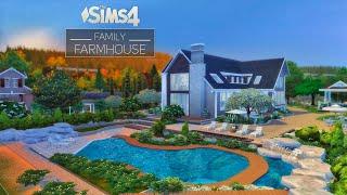 Семейный Фермерский Дом • Дизайн Ландшафта | БезСС | THE SIMS 4